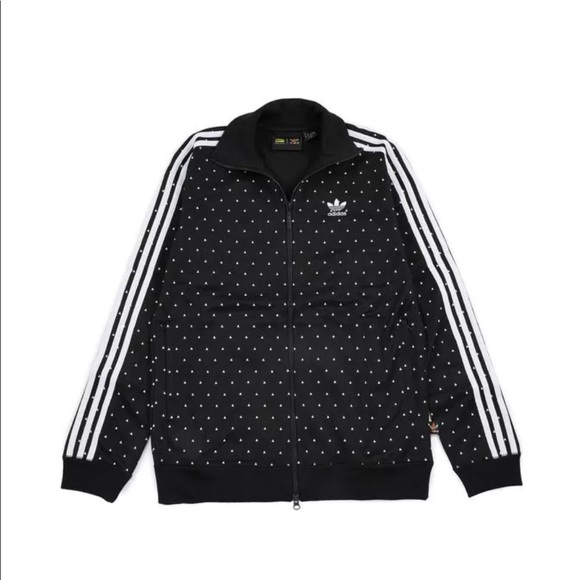 pharrell polka dot adidas jacket